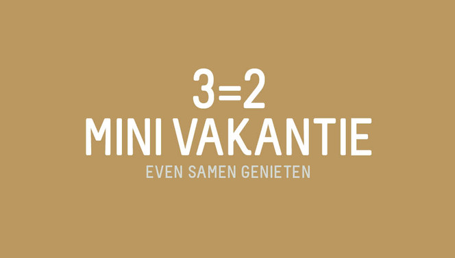 3=2 mini vacation winter beveren van der valk